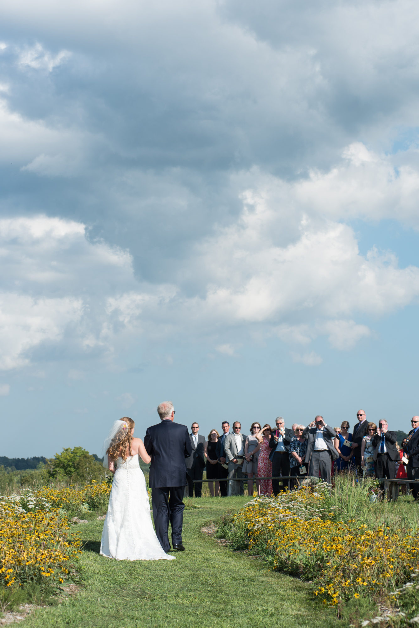 Bride Ceremony South Pond Farms Zsuzsi Pal Photography Wedding