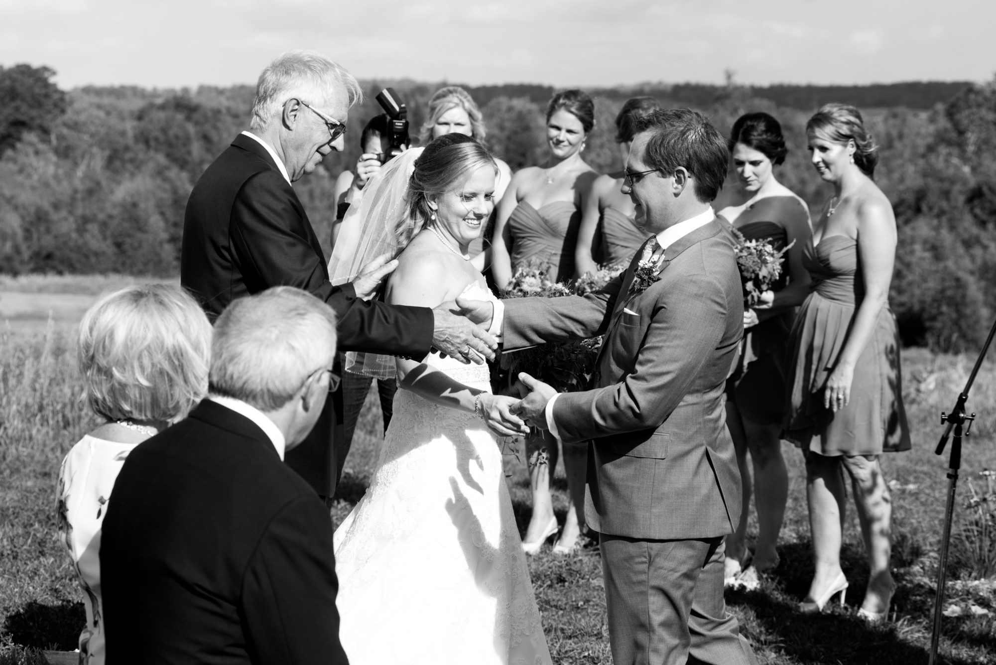 Father Daughter Bride Groom South Pond Farms Zsuzsi Pal Photography Wedding