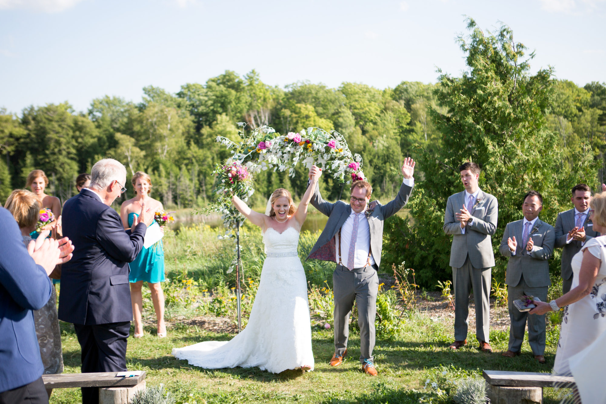 Celebration Ceremony South Pond Farms Zsuzsi Pal Photography Wedding