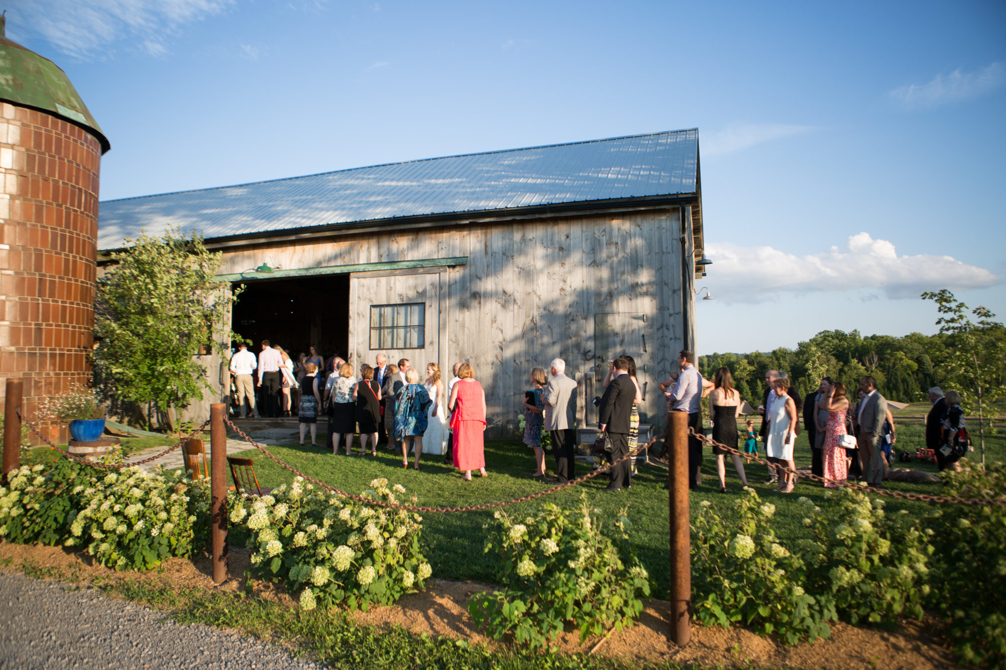 Reception Barn South Pond Farms Zsuzsi Pal Photography Wedding