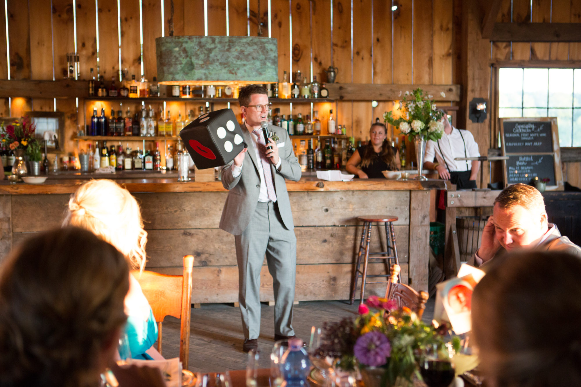 Best Man Speech South Pond Farms Zsuzsi Pal Photography Wedding