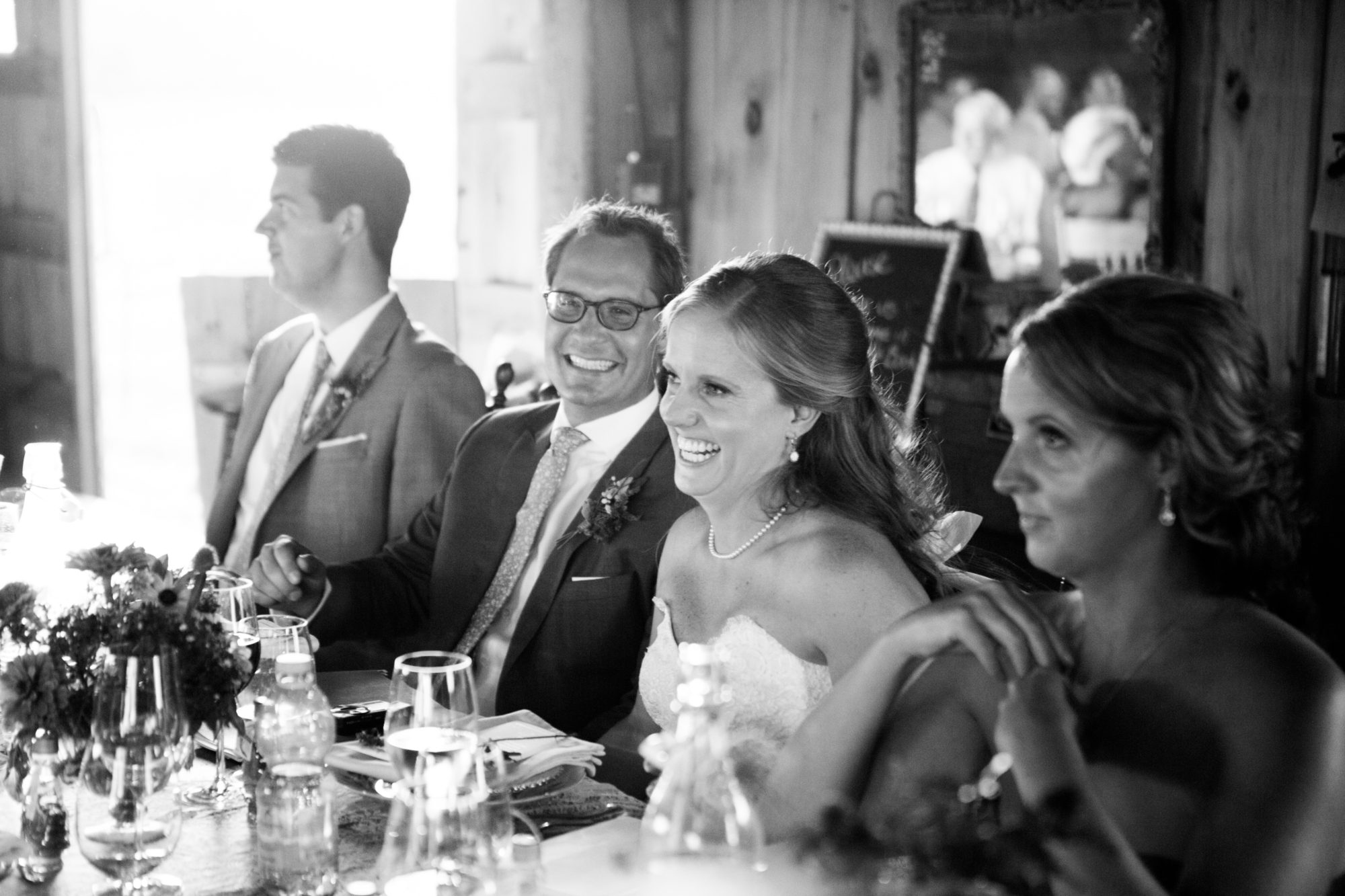 Bride Groom Black and White South Pond Farms Zsuzsi Pal Photography Wedding