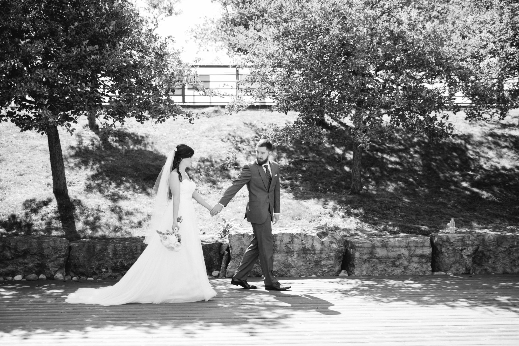Black and White Bride Groom Wedding King City Zsuzsi Pal Photography
