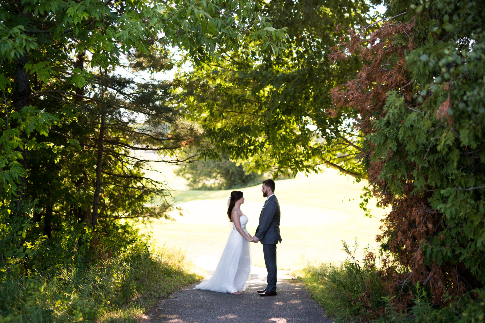 Golf Course Bride Groom Wedding King City Zsuzsi Pal Photography