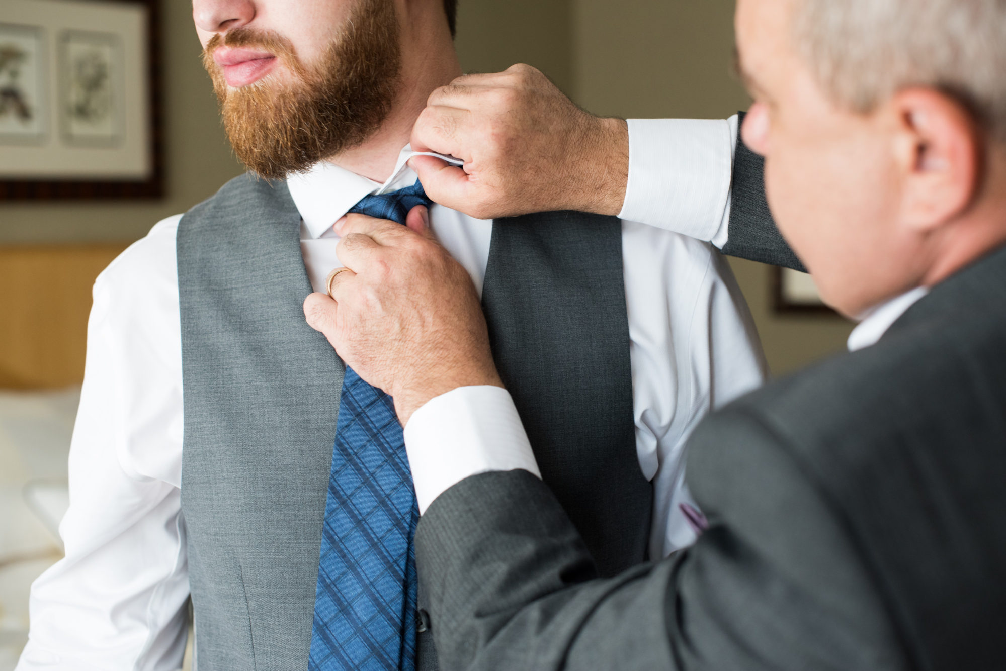 Groom Father Prep Tie Wedding King City Zsuzsi Pal Photography