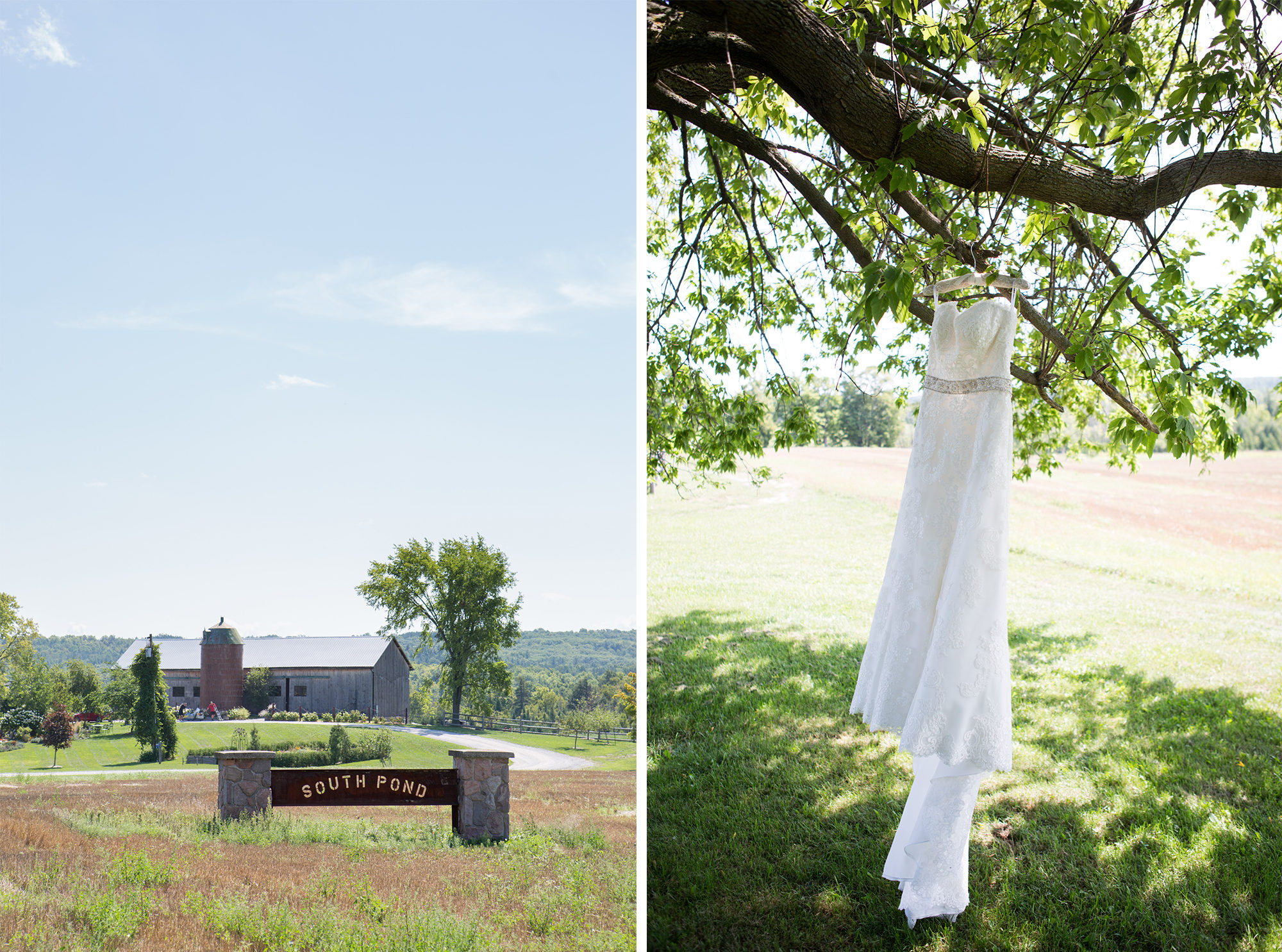 Farm Dress South Pond Farms Zsuzsi Pal Photography Wedding