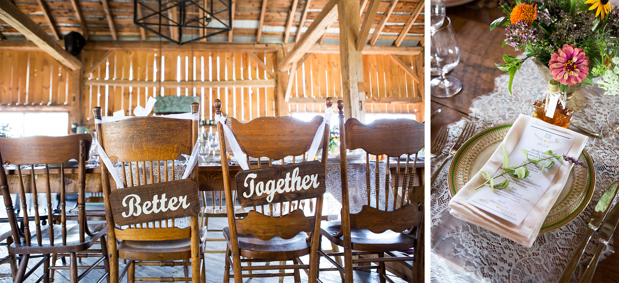 Barn Better Together Reception South Pond Farms Zsuzsi Pal Photography Wedding