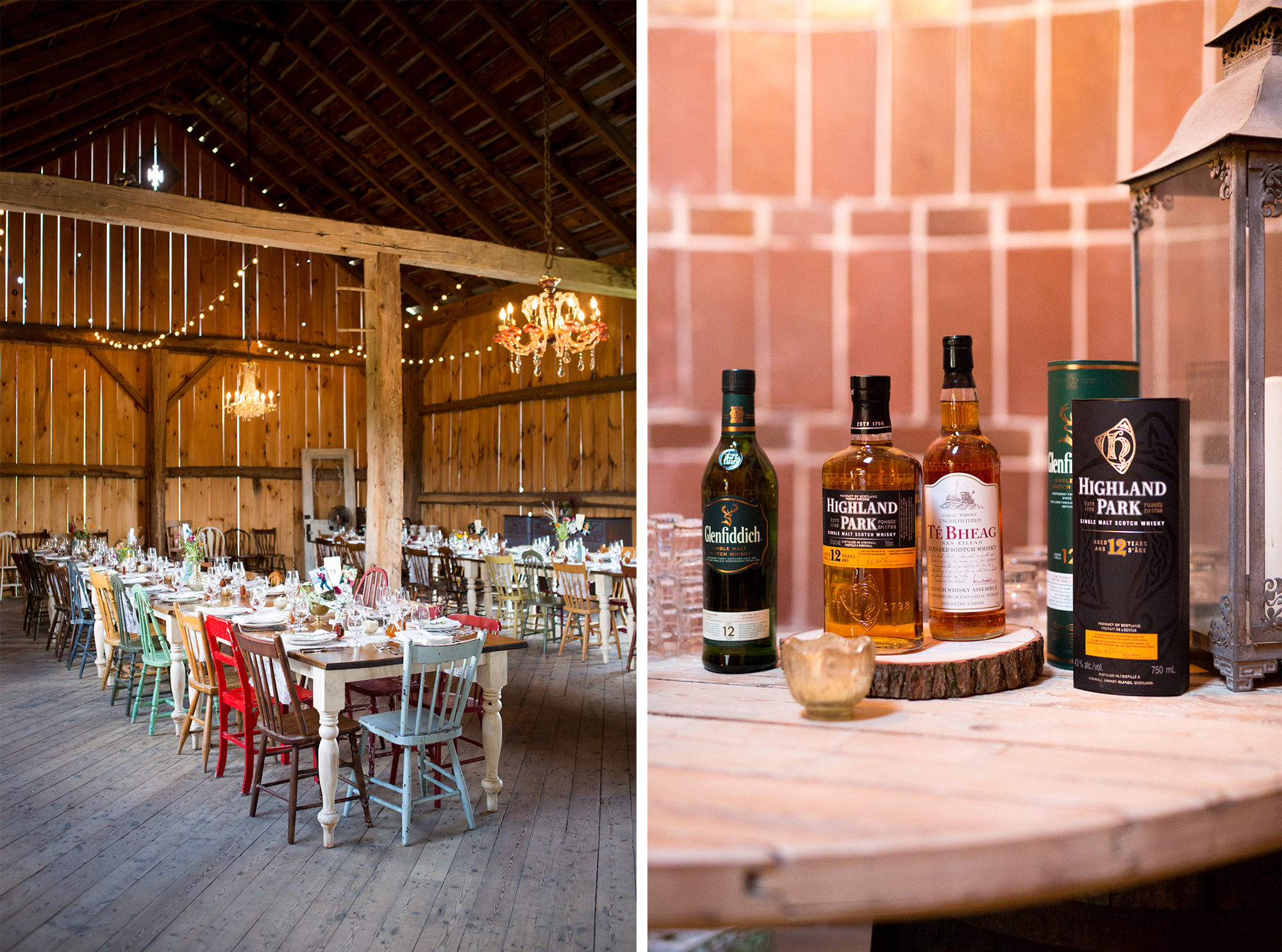 Barn Whisky Scotch South Pond Farms Zsuzsi Pal Photography Wedding