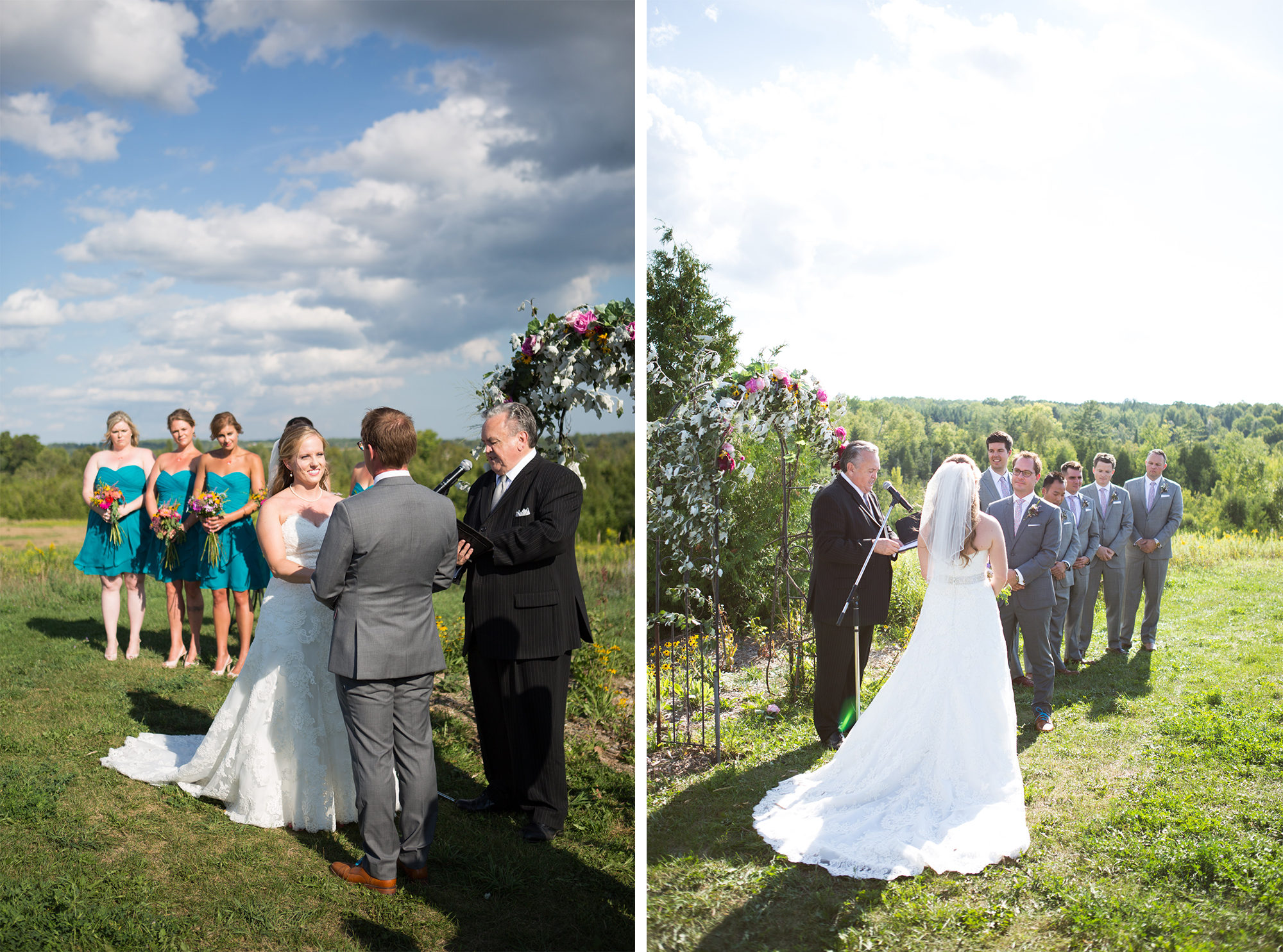 Ceremony South Pond Farms Zsuzsi Pal Photography Wedding