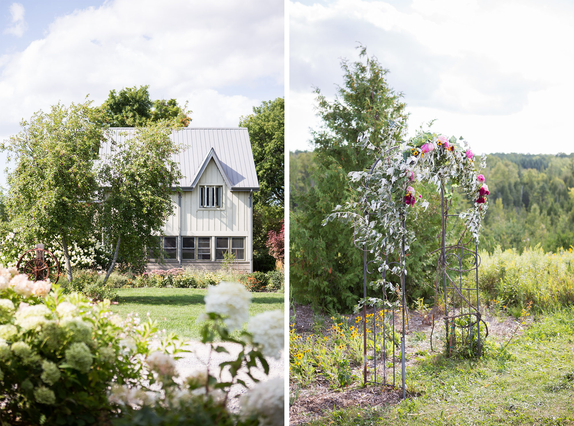 Farm Houses South Pond Farms Zsuzsi Pal Photography Wedding