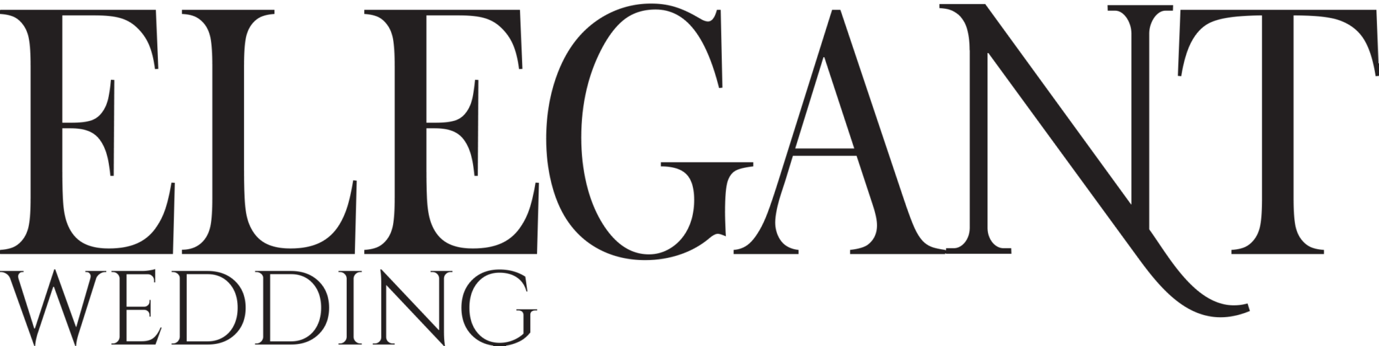 Elegant Wedding Magazine Logo