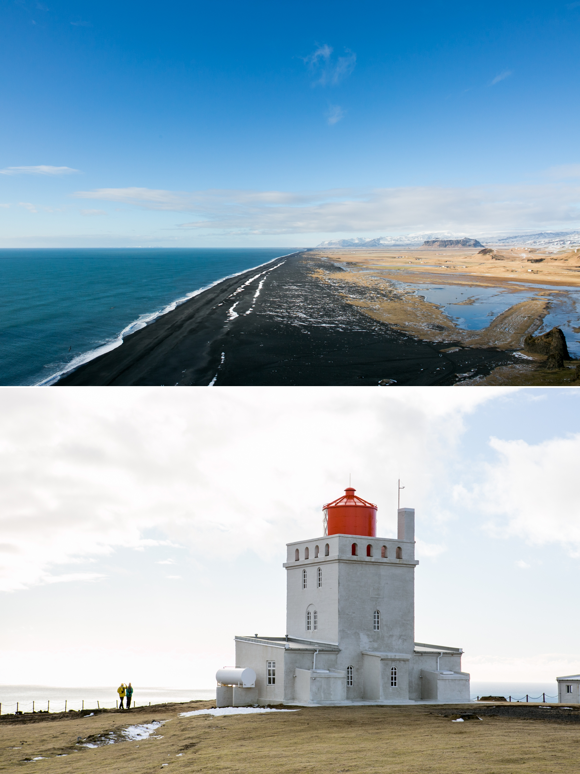 Zsuzsi Pal Photography Iceland Europe Lighthouse Black Sand Beach