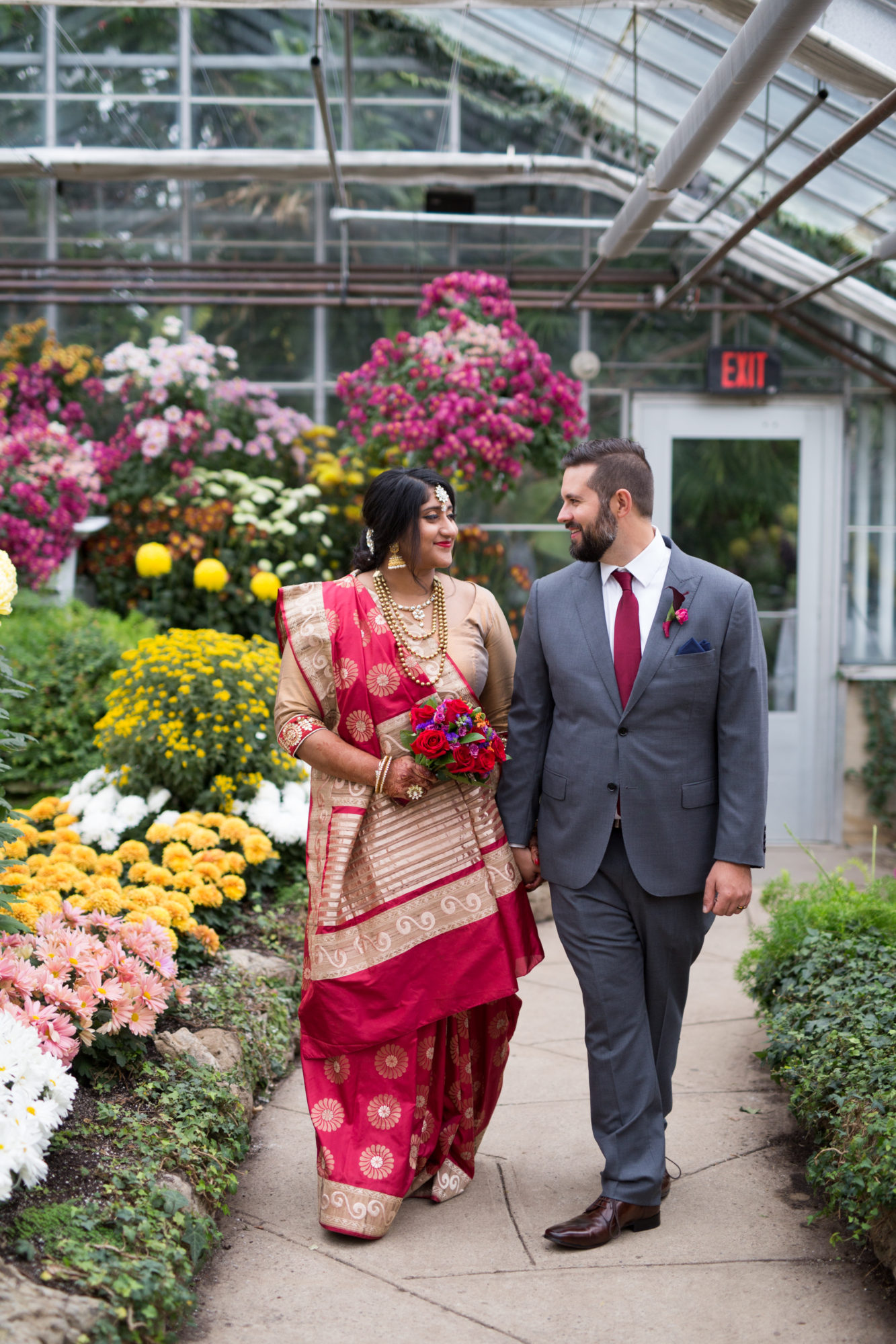 Bridal Portraits Indian Wedding Zsuzsi Pal Photography