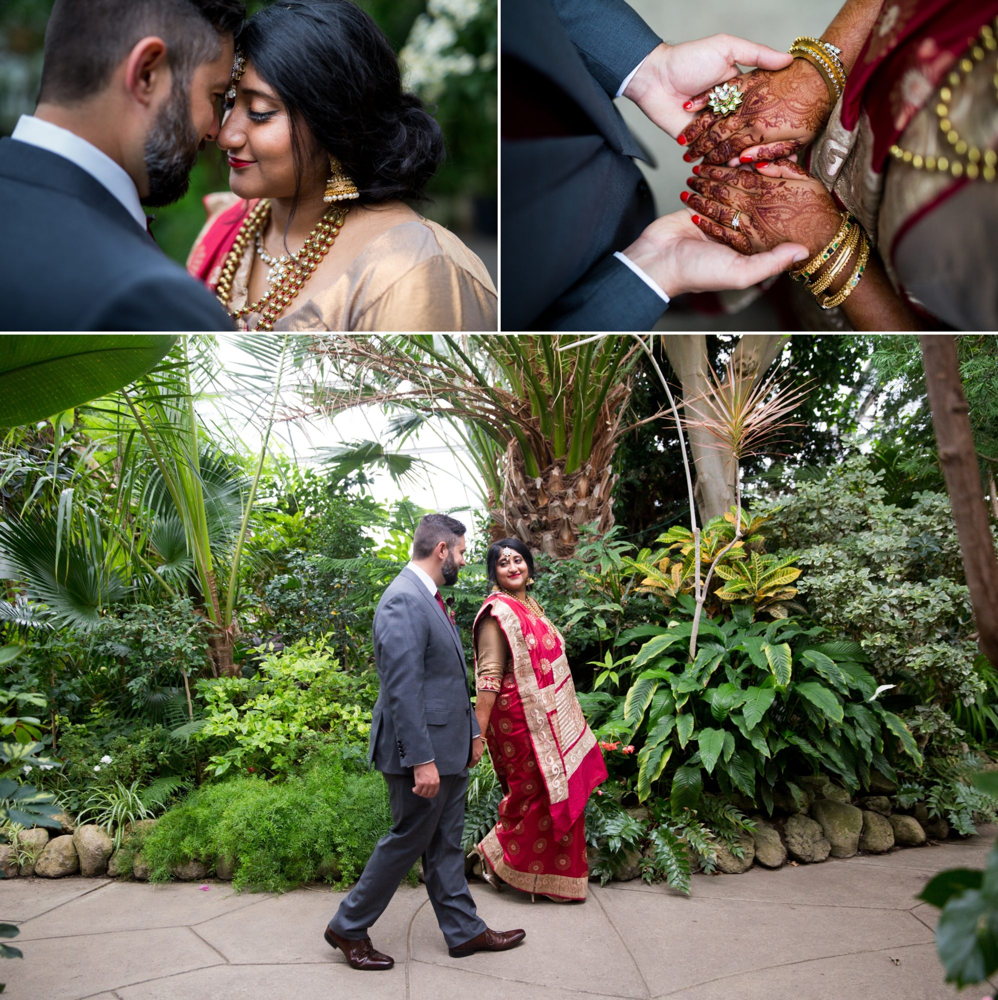 Centennial Greenhouse Henna Indian Wedding Zsuzsi Pal Photography