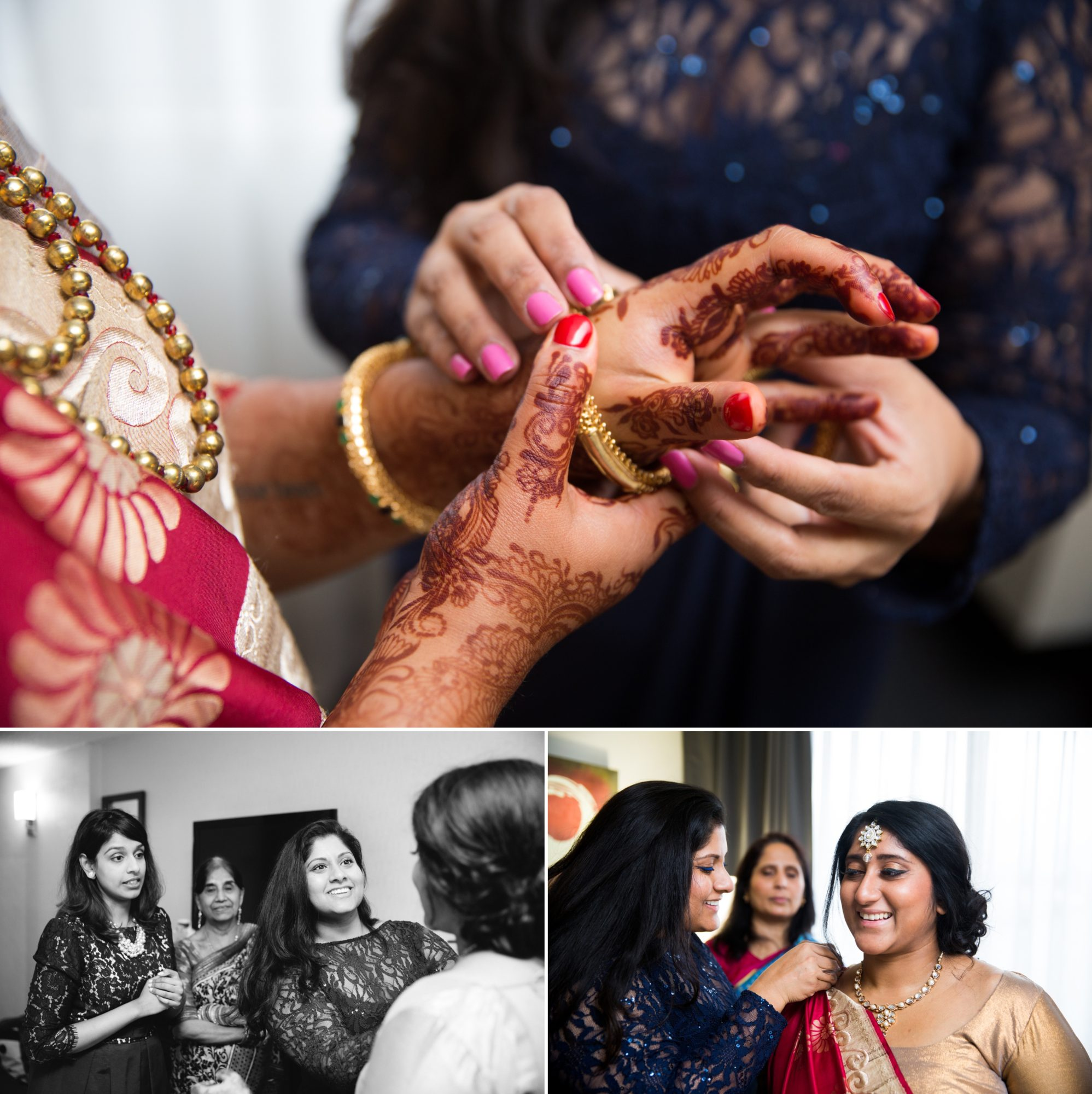 Toronto Bride Prep Indian Wedding Zsuzsi Pal Photography