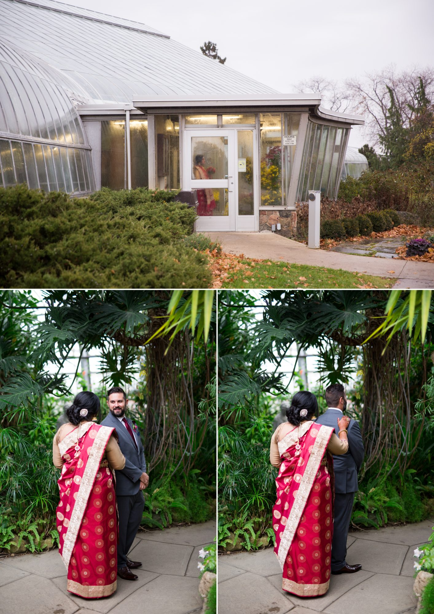 Centennial Greenhouse Wedding Indian Wedding Zsuzsi Pal Photography
