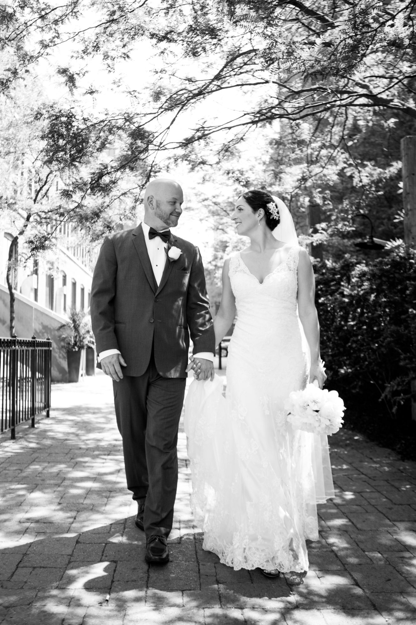 Portrait Black and White Toronto Wedding 2nd Floor Events Zsuzsi Pal Photography