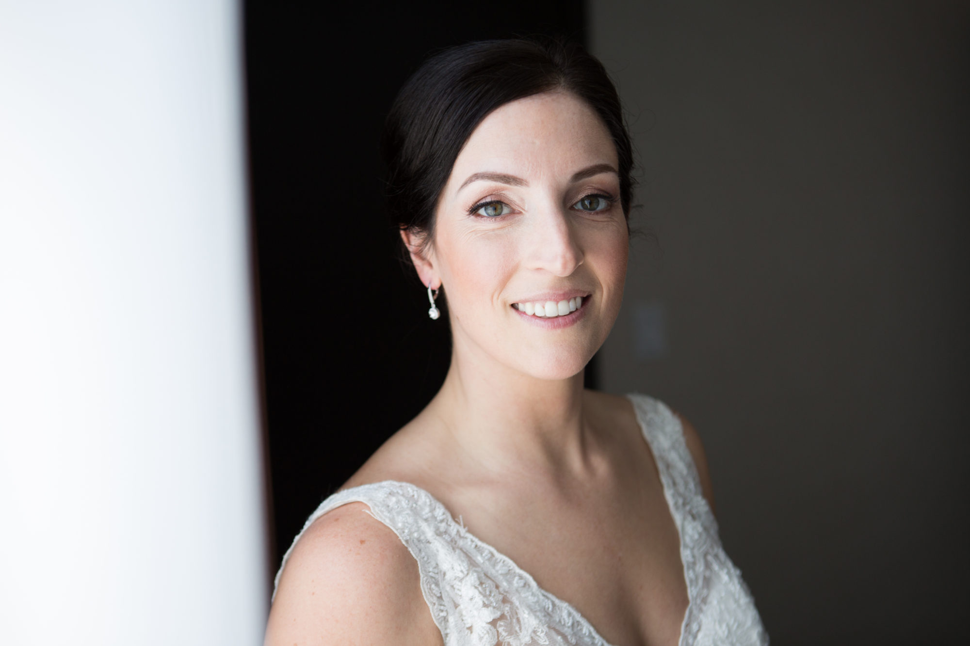 Bride Portrait Toronto Wedding 2nd Floor Events Zsuzsi Pal Photography