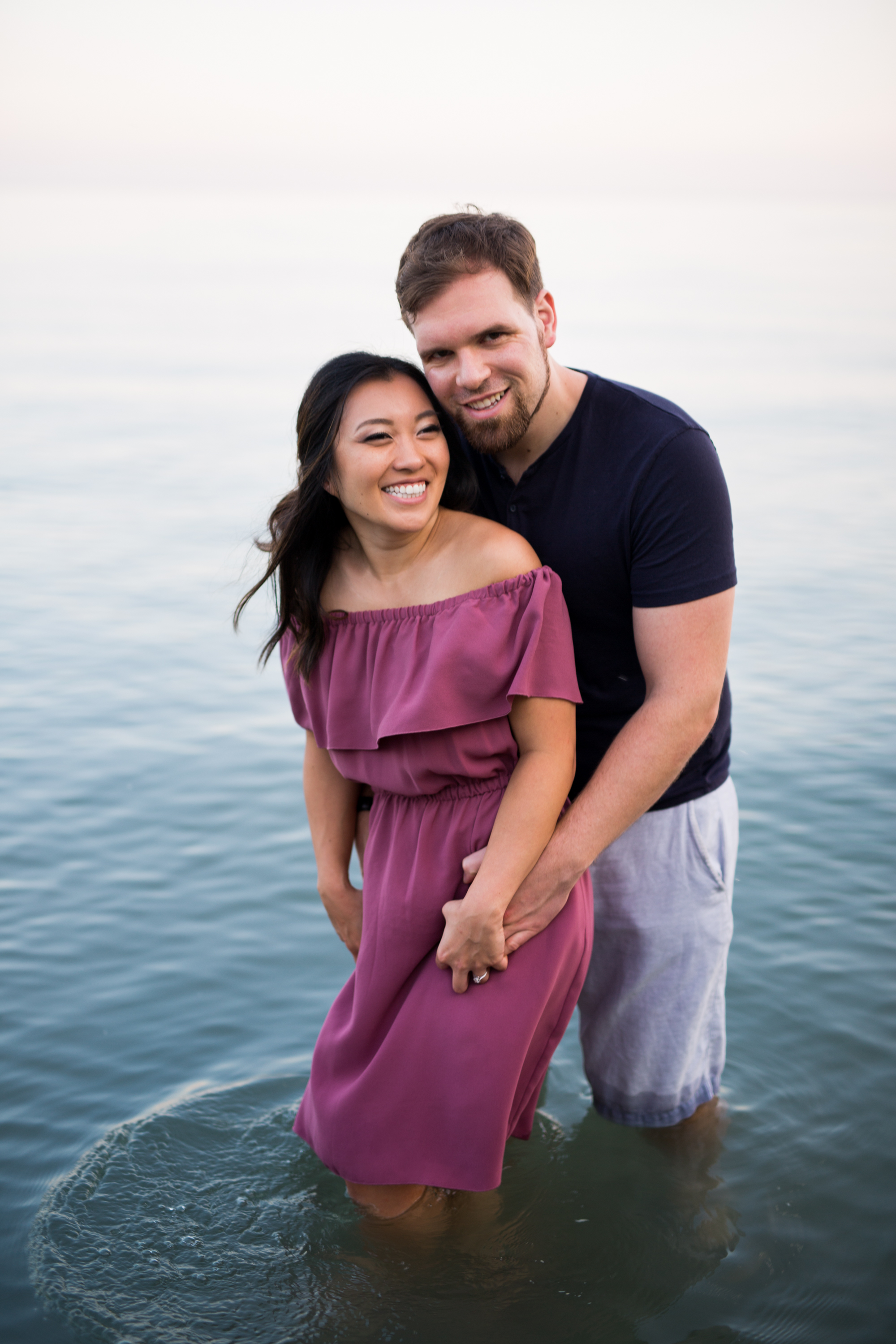 Lake Ontario Cuddle Couple Scarborough Bluffs Engagement Zsuzsi Pal Photography Toronto