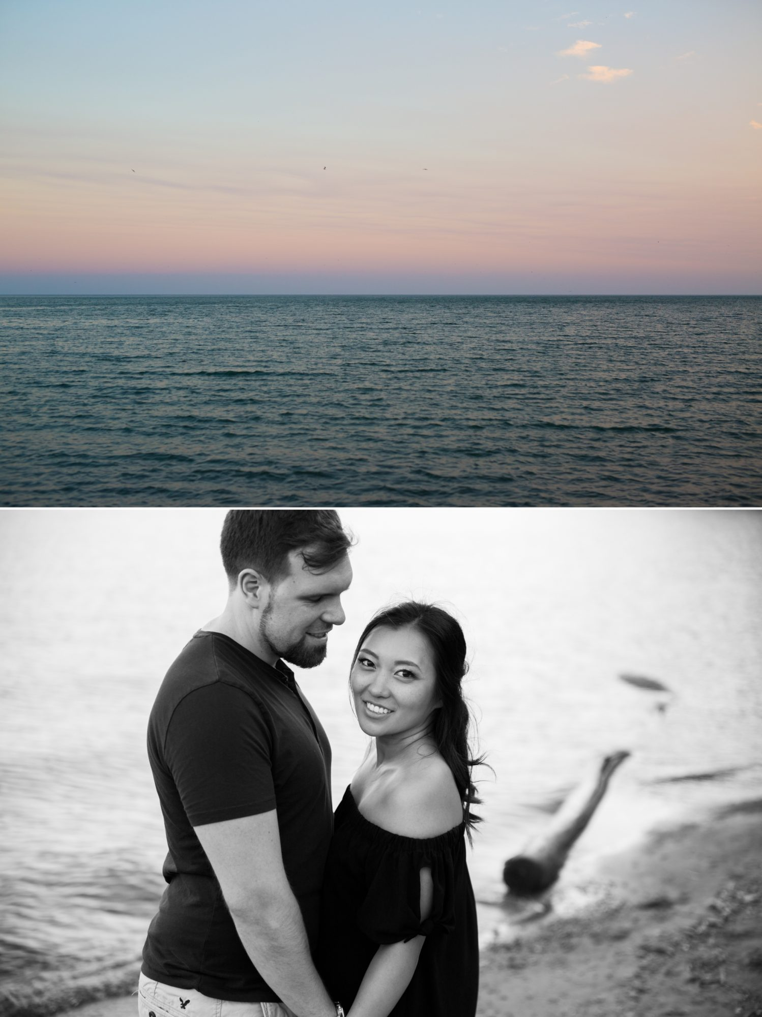 Sunset Lake Scarborough Bluffs Engagement Zsuzsi Pal Photography Toronto