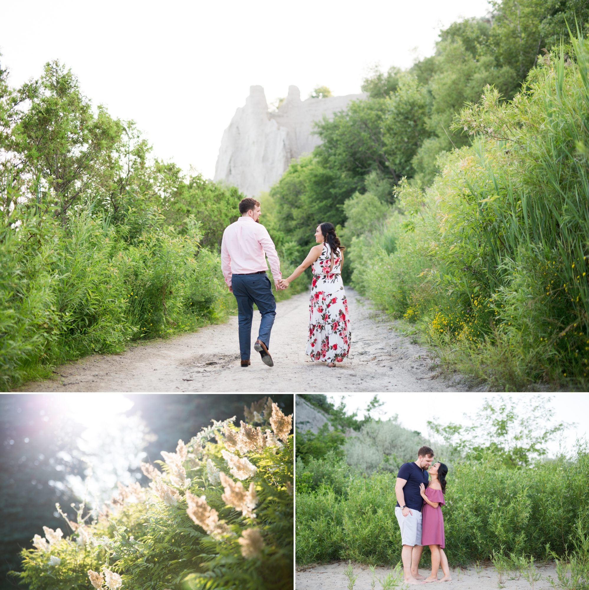 Walk Trail Scarborough Bluffs Engagement Zsuzsi Pal Photography Toronto
