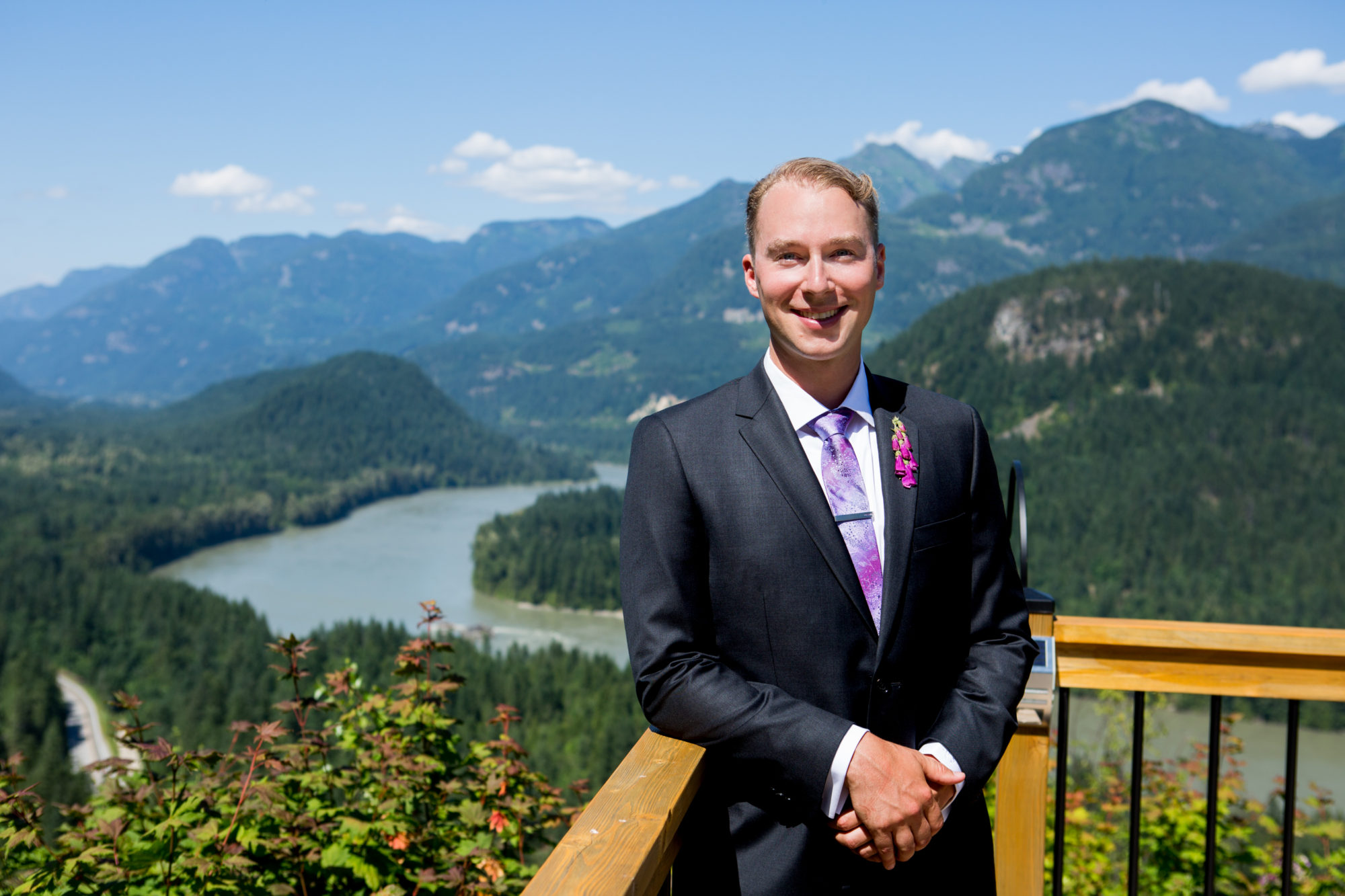 Groom Hope British Columbia Wedding Zsuzsi Pal Photography