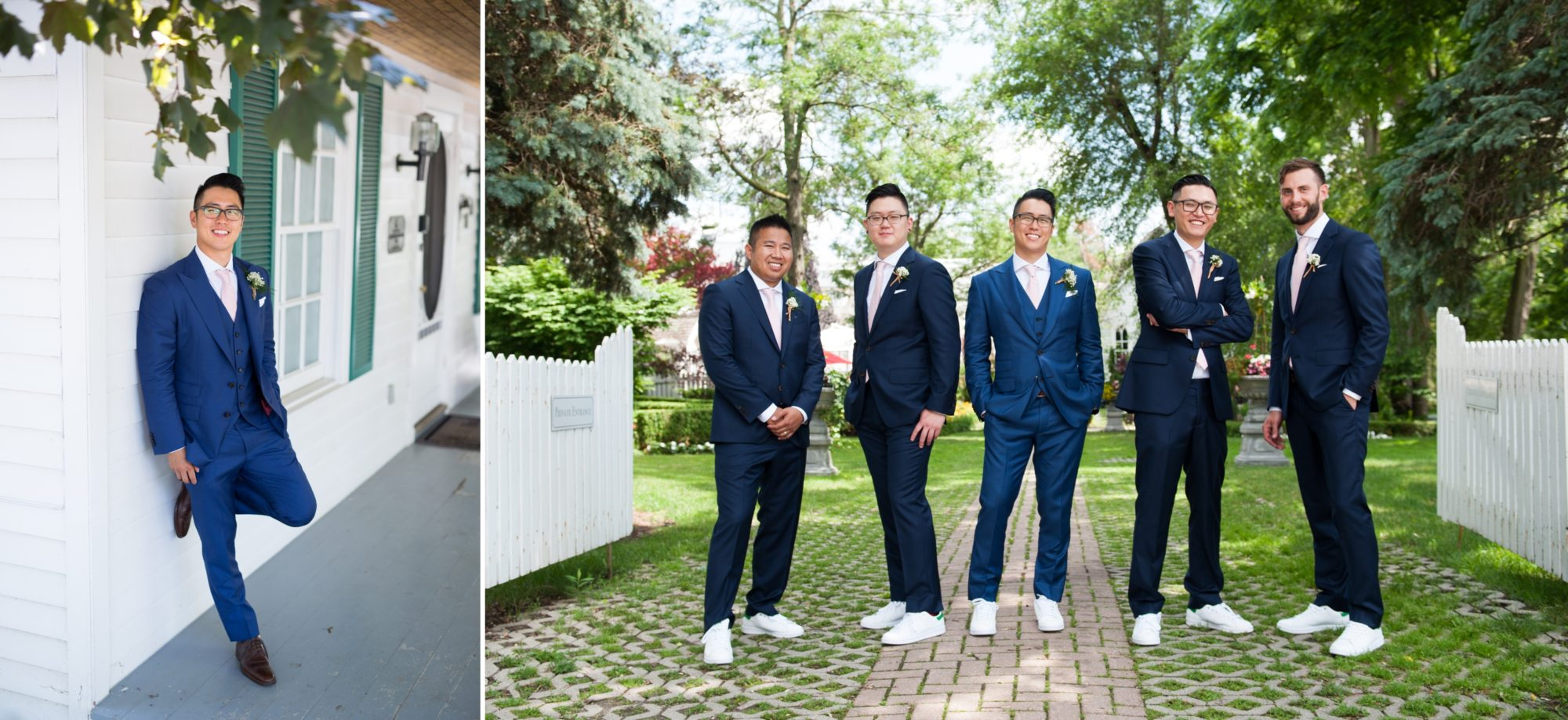 Groomsmen Toronto Chinese Korean Wedding Zsuzsi Pal Photography
