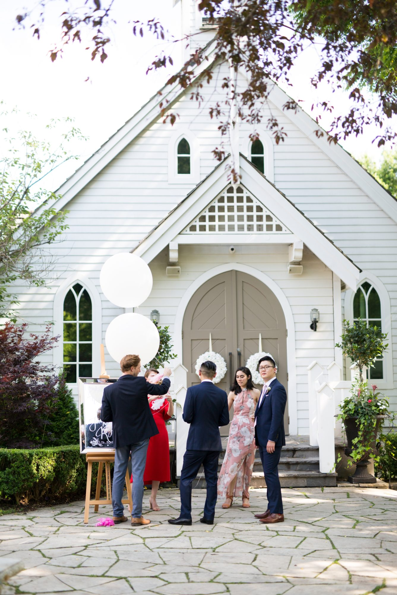 The Doctors House Chapel Toronto Chinese Korean Wedding Zsuzsi Pal Photography