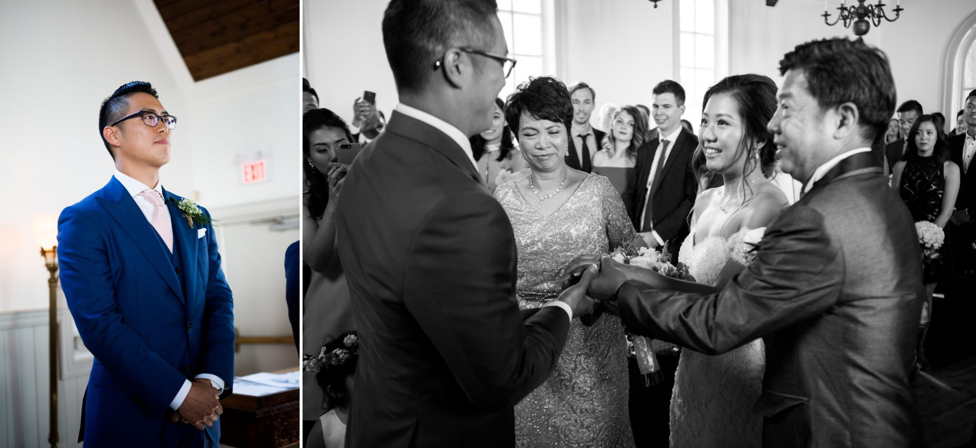 Ceremony Toronto Chinese Korean Wedding Zsuzsi Pal Photography