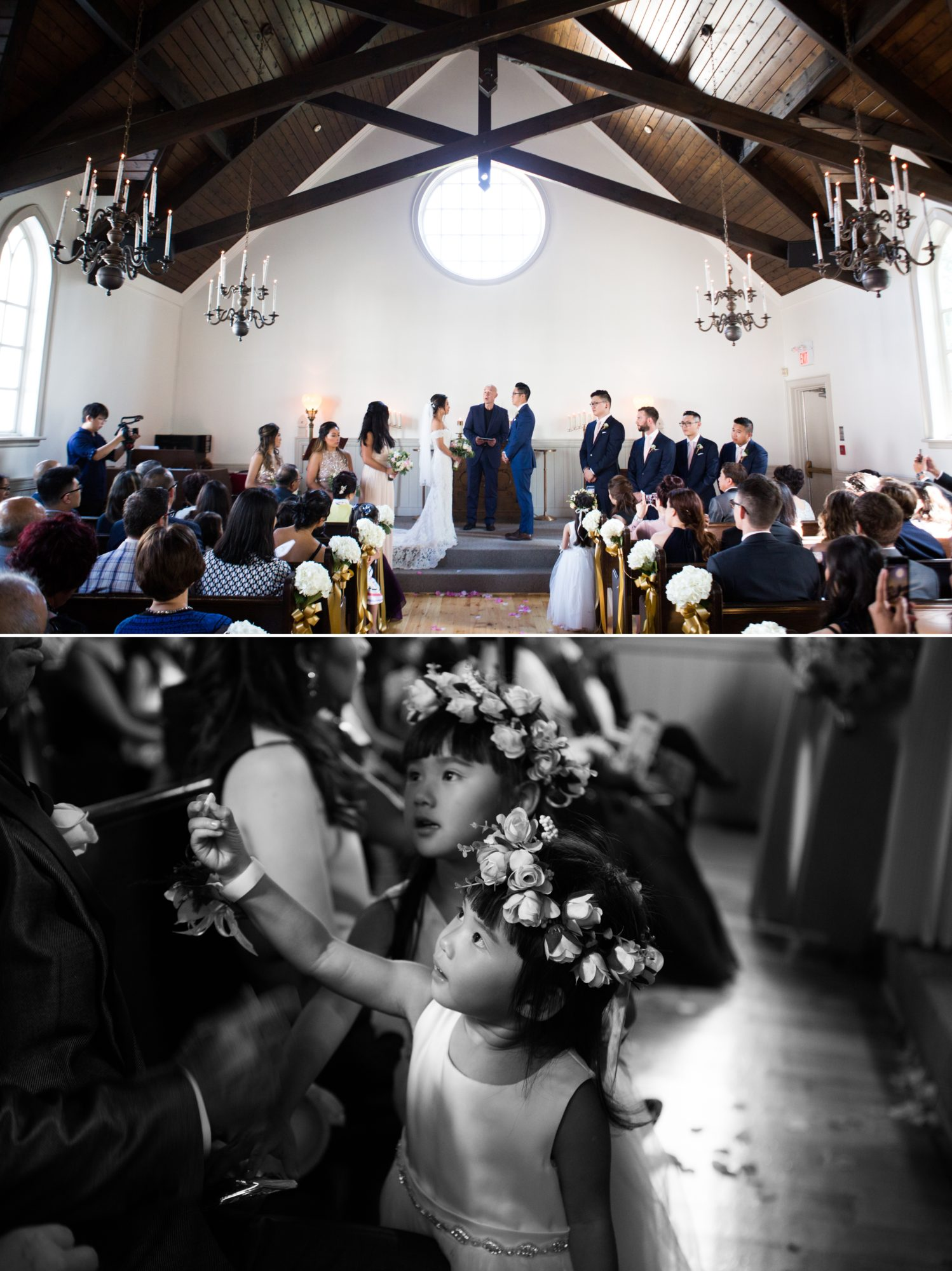 Flower Girls Ceremony Toronto Chinese Korean Wedding Zsuzsi Pal Photography