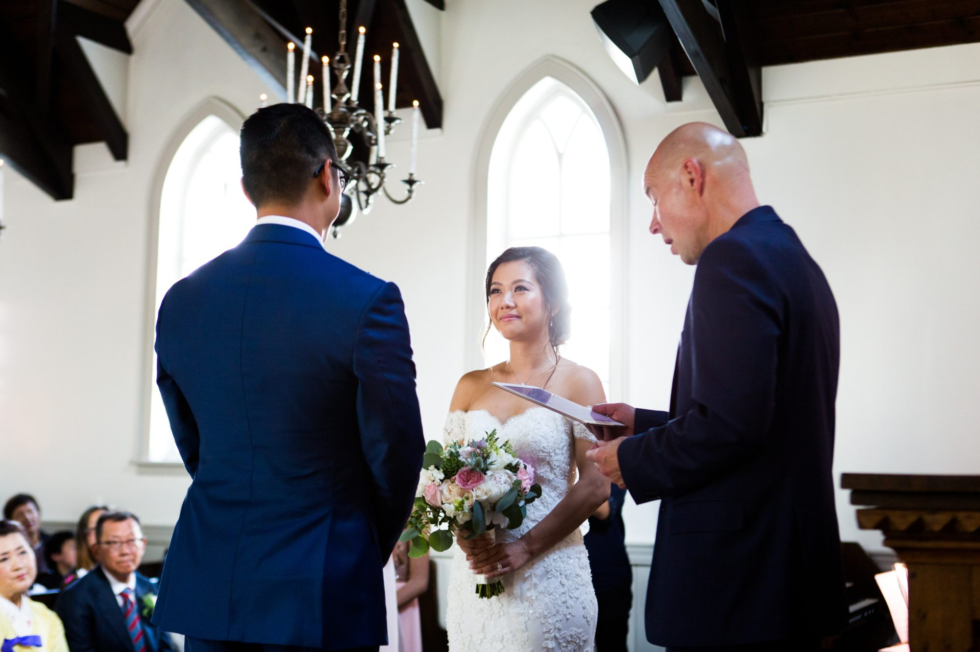 Bride Ceremony Toronto Chinese Korean Wedding Zsuzsi Pal Photography