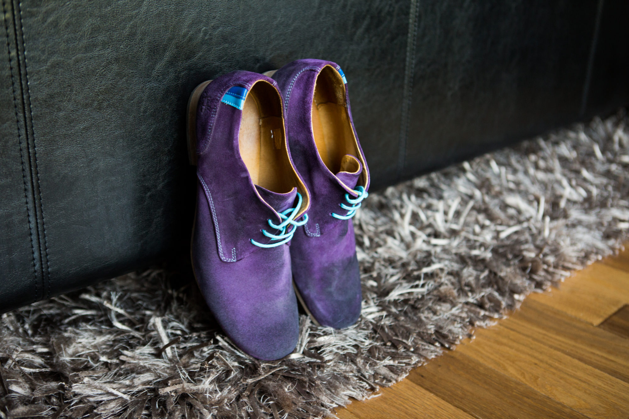 Purple Suede Shoes Hope Wedding British Columbia American Creek Lodge Zsuzsi Pal Photography