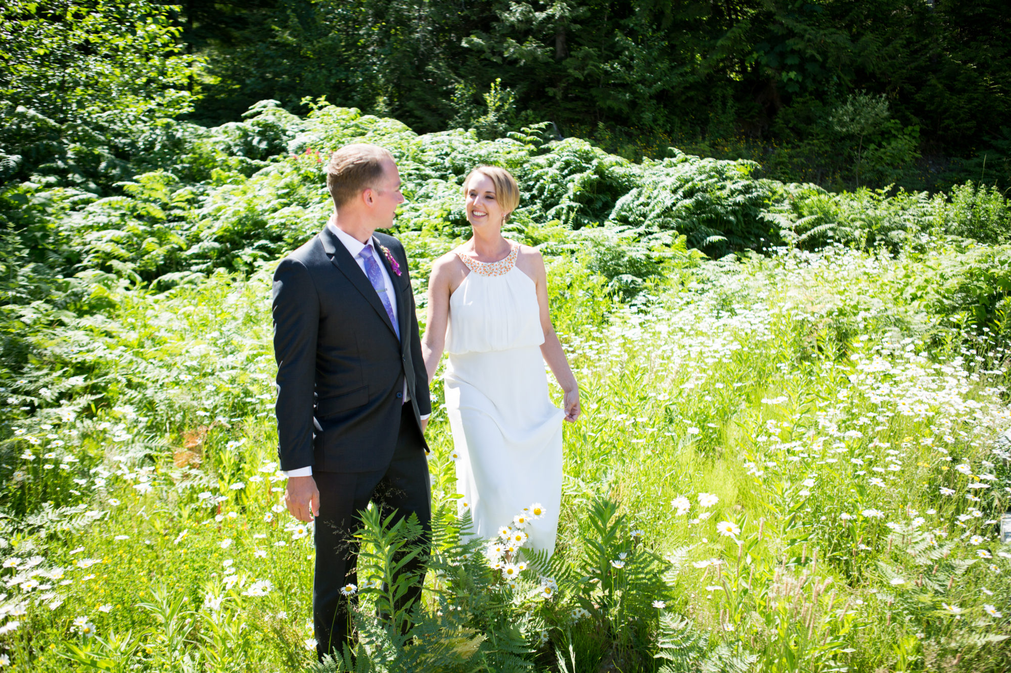 Daisy Walk Hope Wedding British Columbia American Creek Lodge Zsuzsi Pal Photography