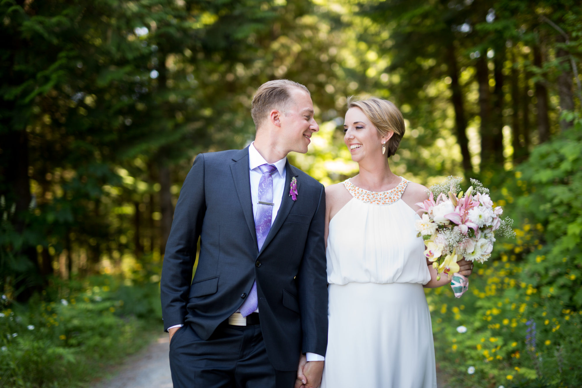Bride Groom Married Hope Wedding British Columbia American Creek Lodge Zsuzsi Pal Photography