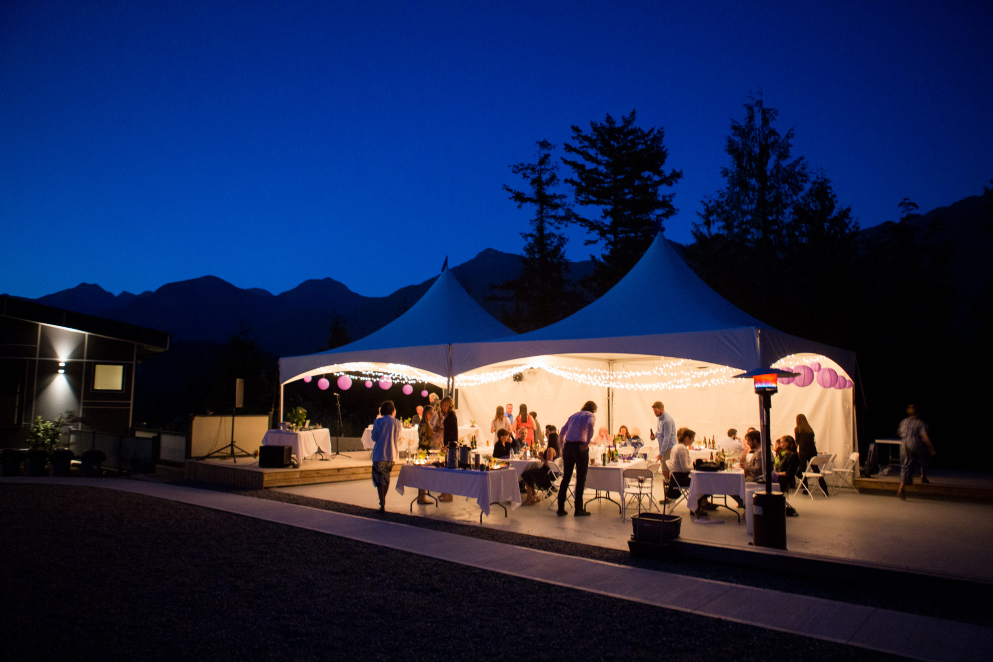 Evening Receptions Hope Wedding British Columbia American Creek Lodge Zsuzsi Pal Photography