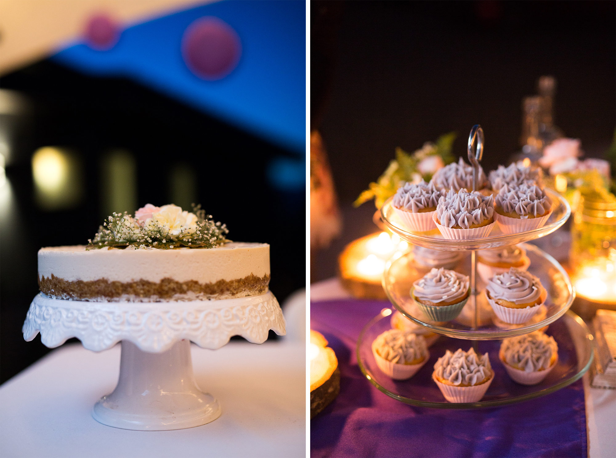 Cake Cupcakes Hope Wedding British Columbia American Creek Lodge Zsuzsi Pal Photography