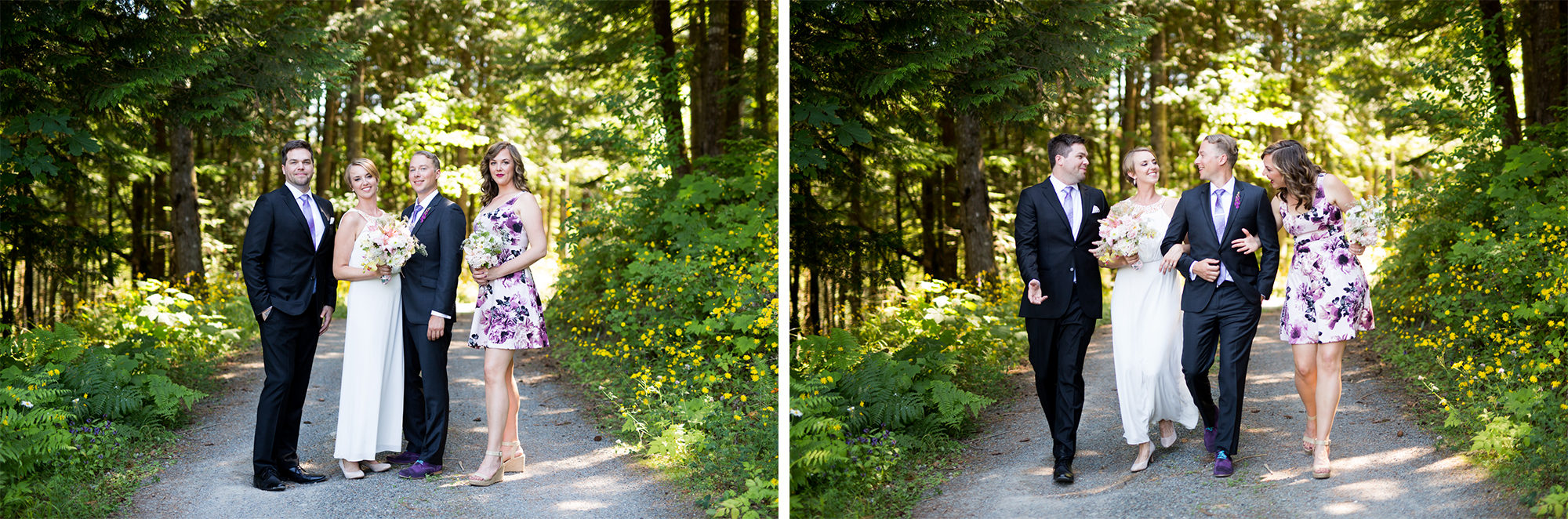 Wedding Party Hope Wedding British Columbia American Creek Lodge Zsuzsi Pal Photography