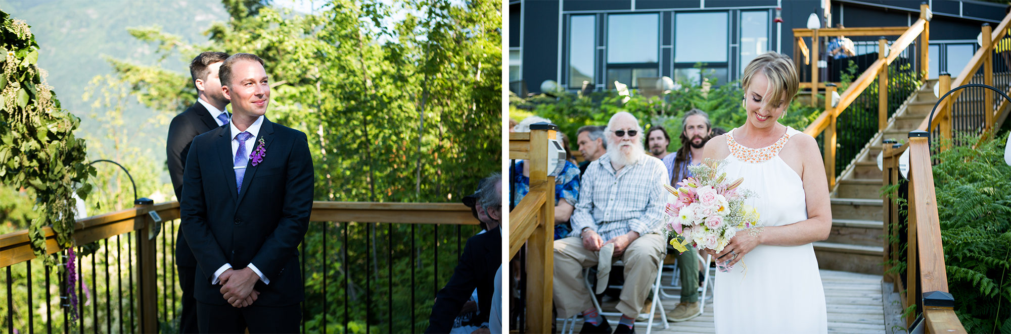 Ceremony Hope Wedding British Columbia American Creek Lodge Zsuzsi Pal Photography