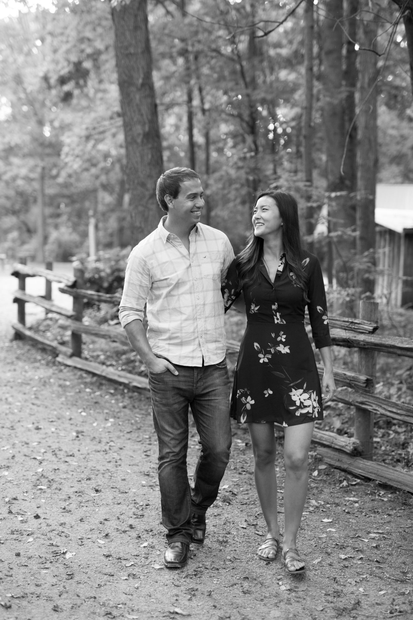 Walk Black and White Engagement Session, Sheppard's Bush, Zsuzsi Pal Photography