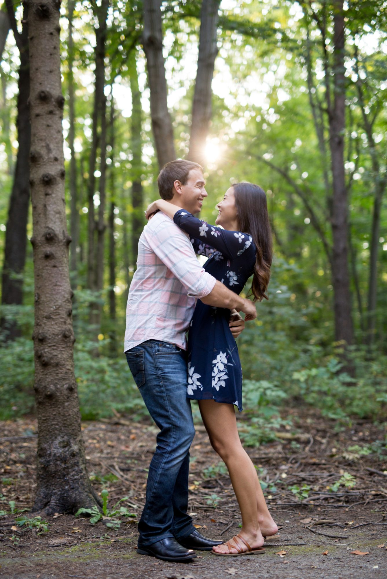 Forest Engagement Session, Sheppard's Bush, Zsuzsi Pal Photography