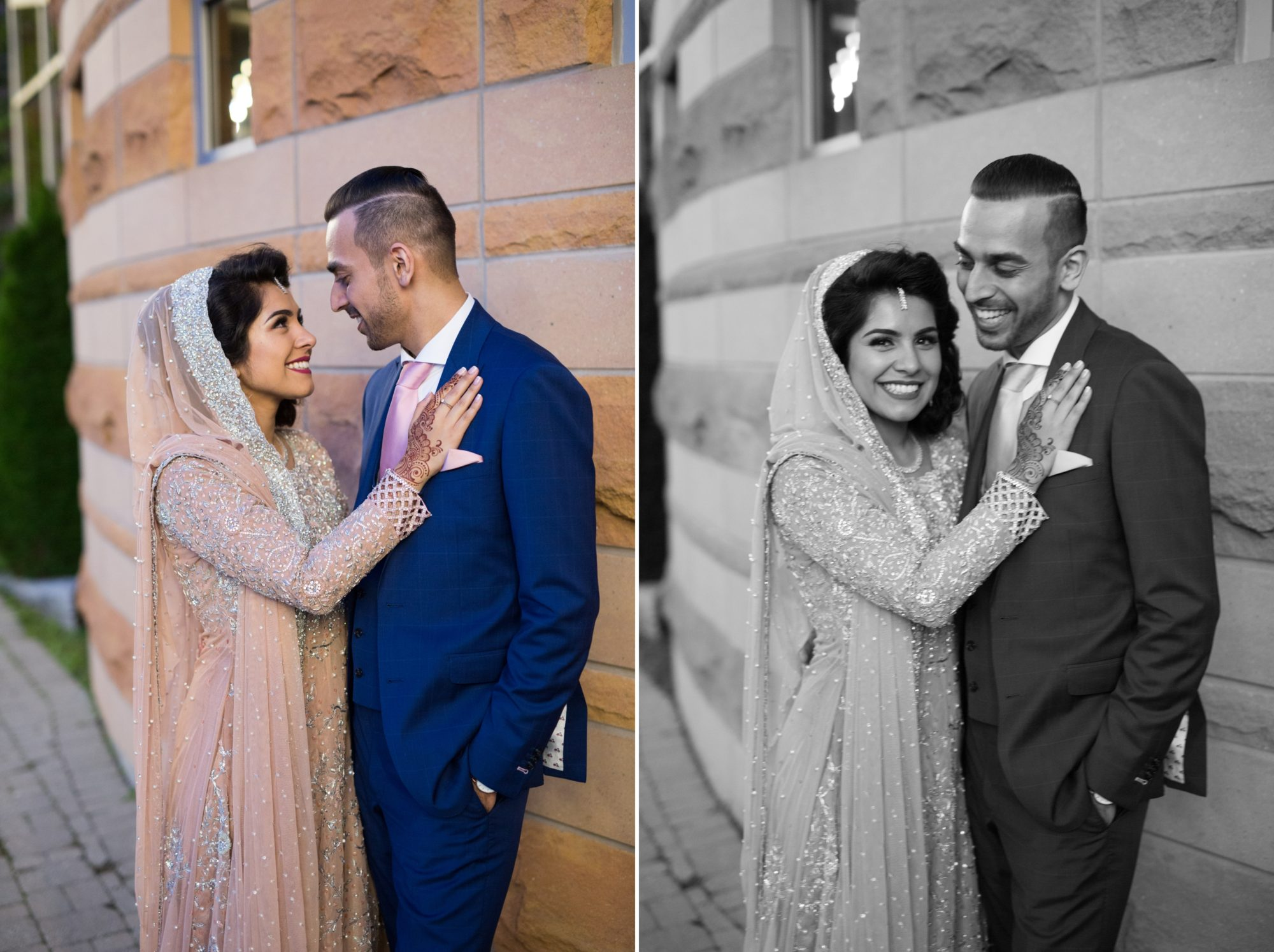 Bride Groom Saba and Jawad Indian Wedding Zsuzsi Pal Photography