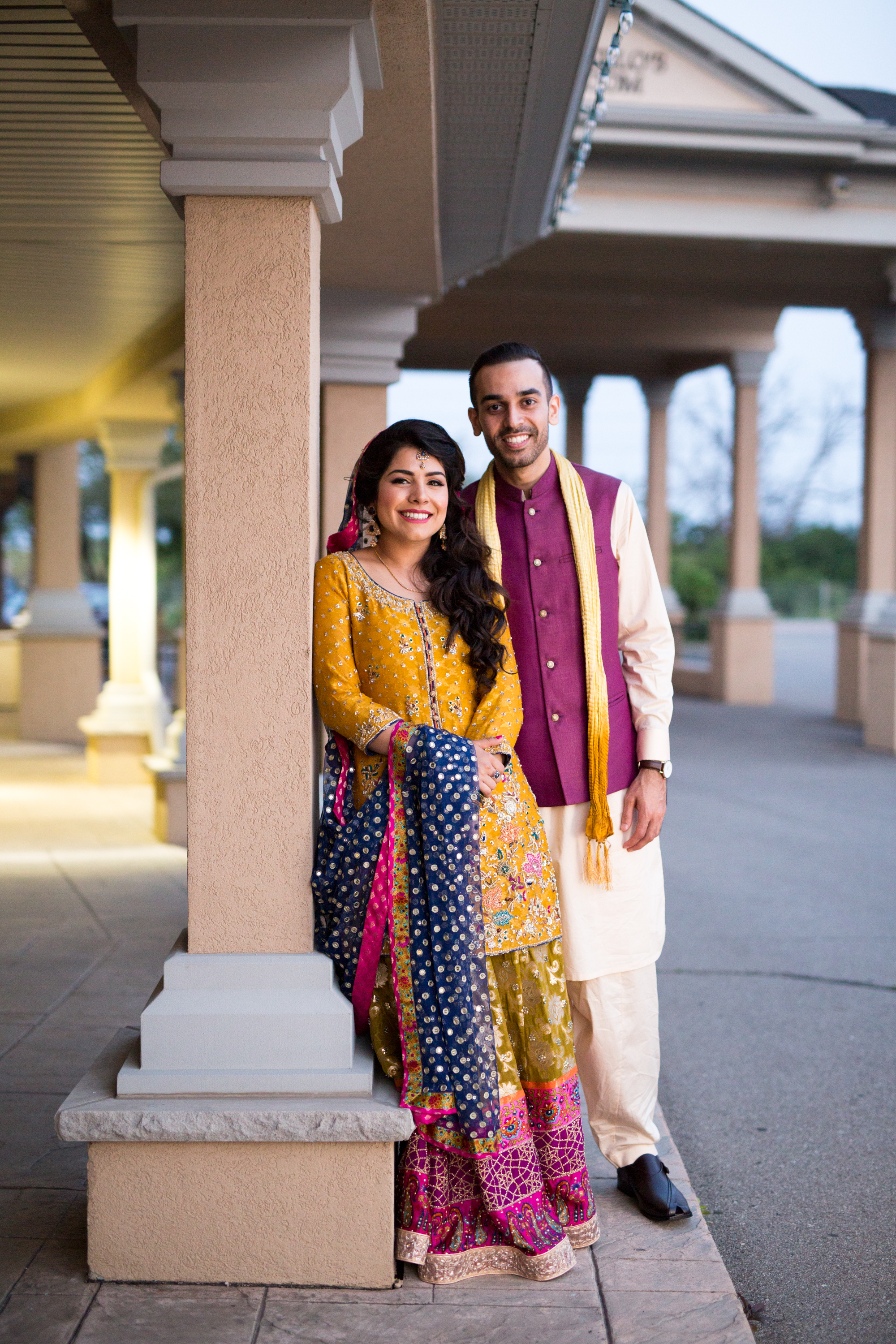 Magic Hour Wedding Mehndi Ceremony Zsuzsi Pal Photography Saba and Jawad