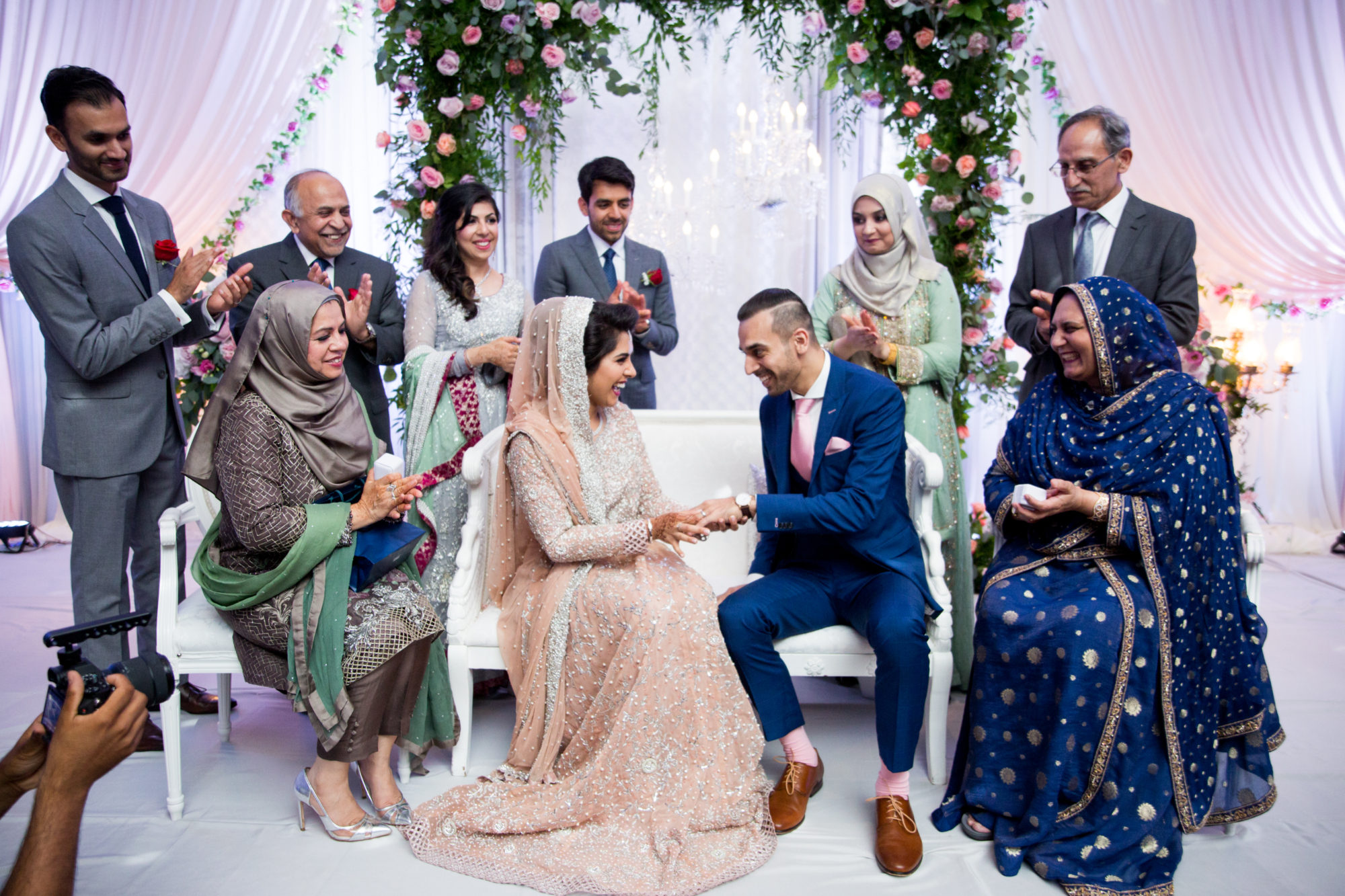 Rings Saba and Jawad Indian Wedding Zsuzsi Pal Photography