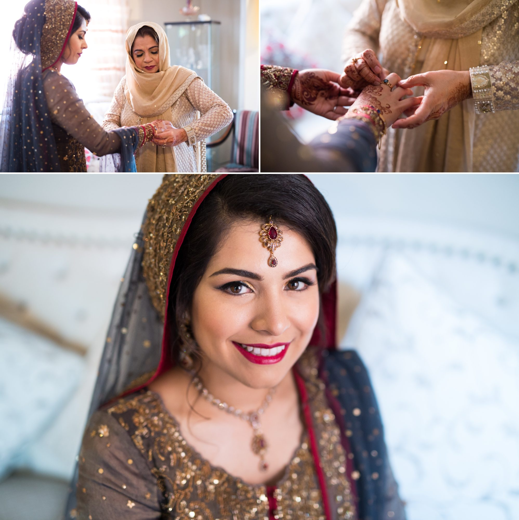 Bride Reception Lionhead Golf Course Zsuzsi Pal Photography Indian Wedding