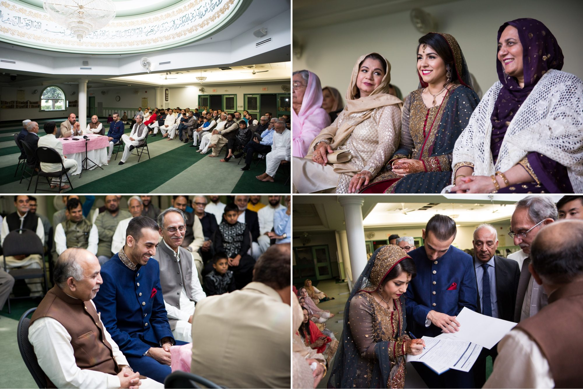 Nikkah Reception Lionhead Golf Course Zsuzsi Pal Photography Indian Wedding