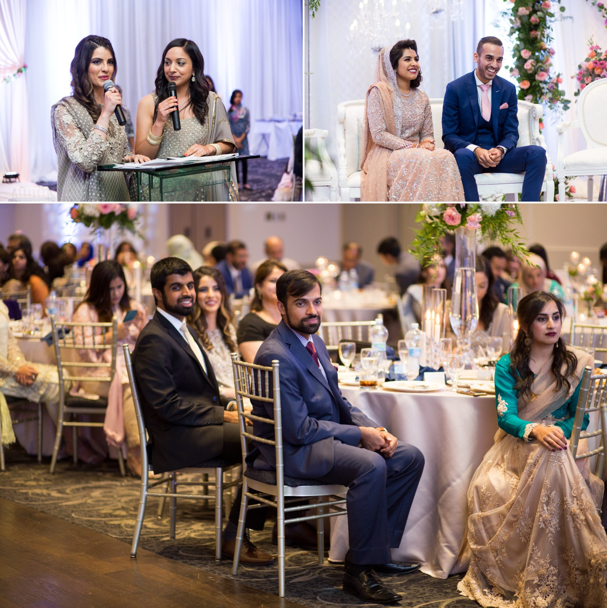 Reception Saba and Jawad Indian Wedding Zsuzsi Pal Photography