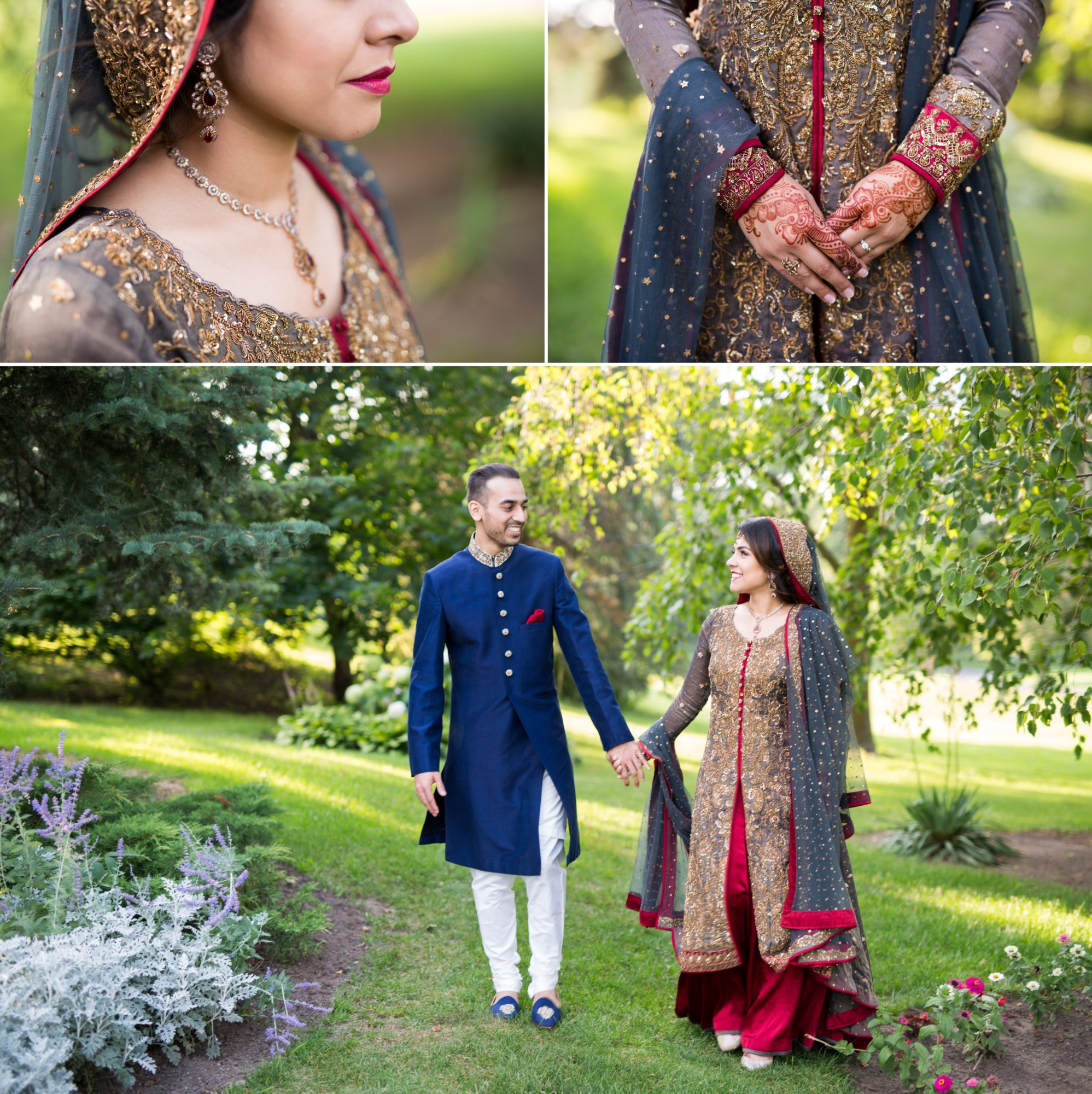 Lengha Reception Lionhead Golf Course Zsuzsi Pal Photography Indian Wedding