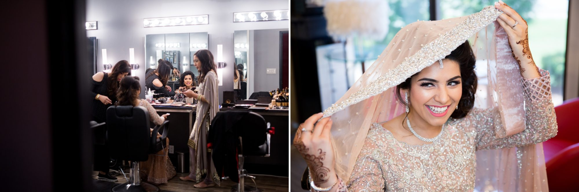 Bride Prep Saba and Jawad Indian Wedding Zsuzsi Pal Photography