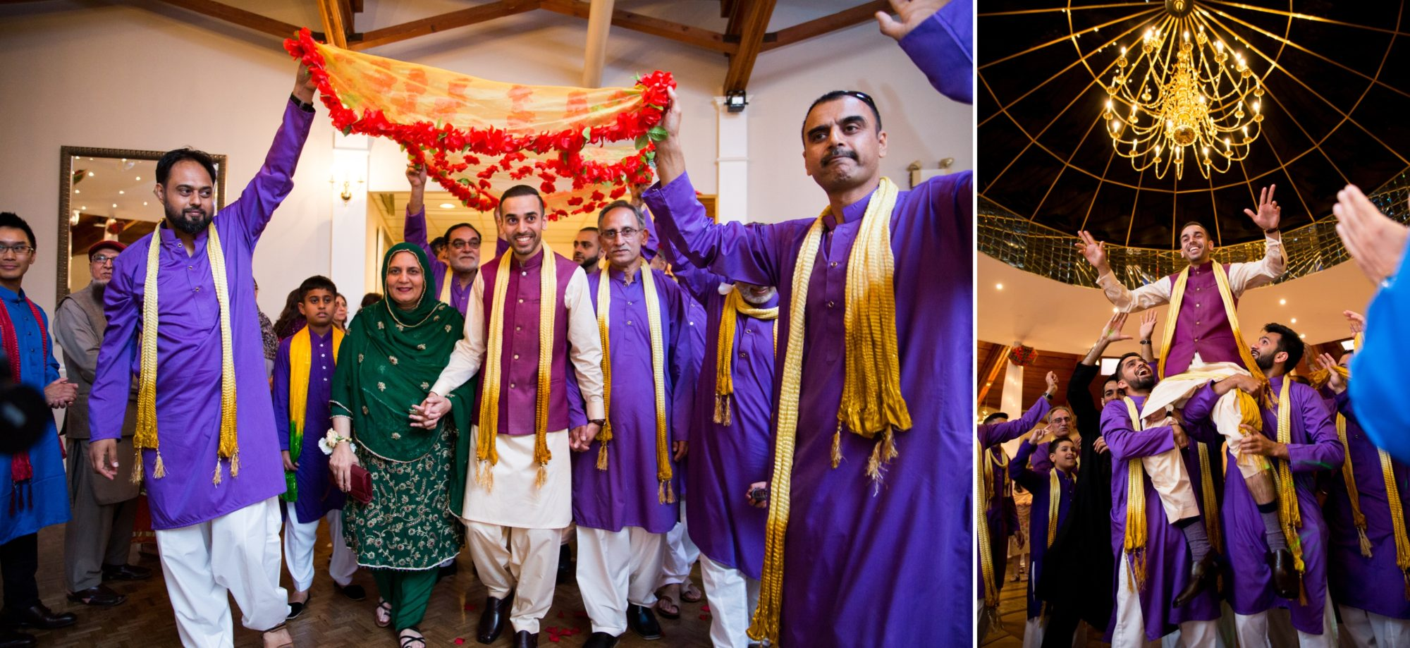 Indian Wedding Mehndi Ceremony Zsuzsi Pal Photography Saba and Jawad