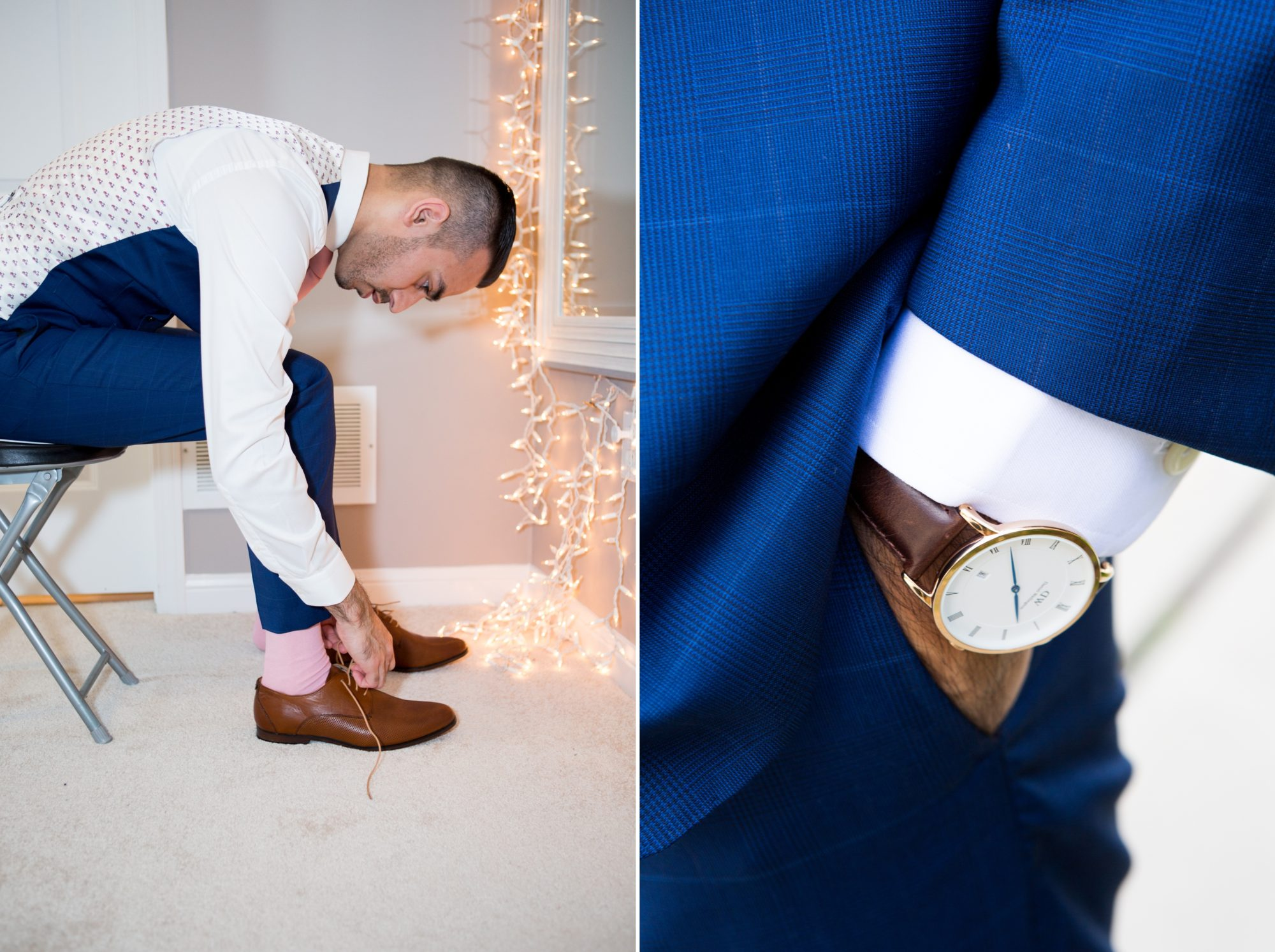Groom Watch Saba and Jawad Indian Wedding Zsuzsi Pal Photography